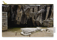 Temple Of The Condor Carry-all Pouch by Kathy McClure