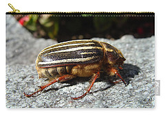 Ten-lined June Beetle Profile Carry-all Pouch