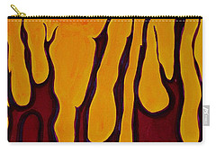 Tendrils Original Painting Carry-all Pouch