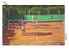 Tennis Practice Carry-all Pouch by Andrew Macara