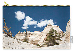 Carry-all Pouch featuring the photograph High Noon At Tent Rocks by Roselynne Broussard