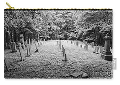 Terpenning Cemetery B And W Carry-all Pouch