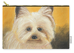 Terrier Carry-all Pouch by Jeanne Fischer