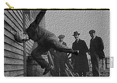 Testing Football Helmets In 1912 Ouchhhhh Carry-all Pouch by R Muirhead Art