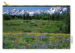 Teton Grandeur Carry-all Pouch by Ed  Riche