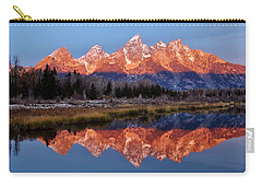 Carry-all Pouch featuring the photograph Teton Majesty by Benjamin Yeager