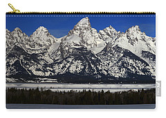 Tetons From Glacier View Overlook Carry-all Pouch