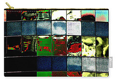Carry-all Pouch featuring the photograph Tetris II by Christiane Hellner-OBrien