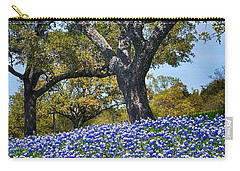 Texas Bluebonnet Hill Carry-all Pouch