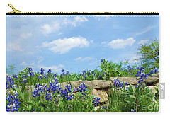 Texas Bluebonnets 08 Carry-all Pouch