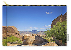 Texas Canyon 2 Carry-all Pouch by Walter Herrit