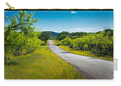 Texas Hill Country Road Carry-all Pouch