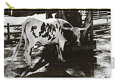 Texas Longhorn Carry-all Pouch by Liane Wright