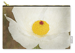Texas Prickly Poppy Wildflower Carry-all Pouch
