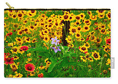 Texas Spring Delight Carry-all Pouch by Lynn Bauer