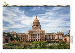 Texas State Capitol II Carry-all Pouch by Joan Carroll