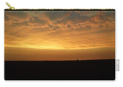 Texas Sunset Carry-all Pouch by Ed Sweeney