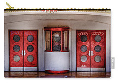 Texas Theater Carry-all Pouch by David and Carol Kelly