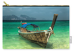 Thai Boat  Carry-all Pouch by Adrian Evans