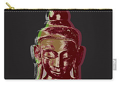 Thai Buddha #3 Carry-all Pouch by Jean luc Comperat