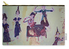 Thai Dance Carry-all Pouch by Judith Desrosiers