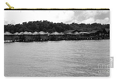 Carry-all Pouch featuring the photograph Thai Village by Andrea Anderegg