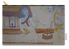 Carry-all Pouch featuring the painting Thailand by Avonelle Kelsey