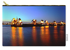 Carry-all Pouch featuring the photograph London Thames River by Mariusz Czajkowski