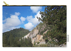 Clouds Of Hearts Carry-all Pouch by Bobbee Rickard