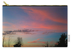 Carry-all Pouch featuring the photograph Thankful For The Day by Linda Bailey