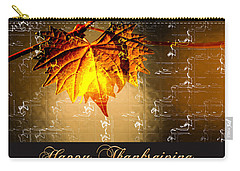 Thanksgiving Card Carry-all Pouch