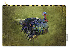Thanksgiving Is Coming Better Run Better Run Carry-all Pouch by Diane Schuster