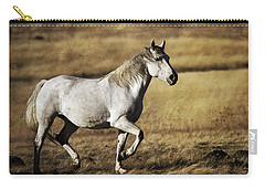 Carry-all Pouch featuring the photograph That Golden Hour D3550 by Wes and Dotty Weber