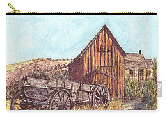 That Which Once Was Carry-all Pouch by Carol Wisniewski
