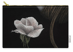 Carry-all Pouch featuring the painting That Which Will Not Be Silenced by Pat Erickson