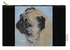 Pug's Worried Look Carry-all Pouch
