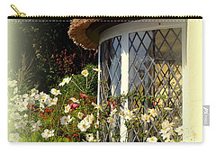 Thatched Cottage Window Carry-all Pouch