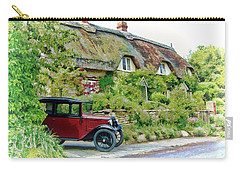 Thatched Cottages At Reybridge Carry-all Pouch