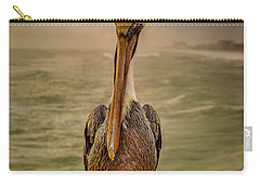 That's Mr. Pelican To You Carry-all Pouch by Steven Reed