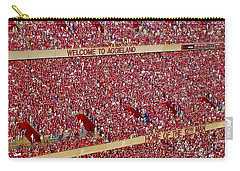 The 12th Man Carry-all Pouch by Gary Holmes