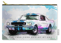 The 1965 Ford Shelby Gt 350  Carry-all Pouch