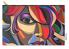 The Abstract Ai - Abstract Painting - Self Portrait - Ai P.nilson Carry-all Pouch