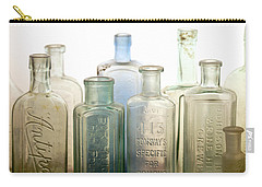 The Ages Reflected In Glass Carry-all Pouch by Holly Kempe