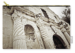 The Alamo Carry-all Pouch by Linda Unger