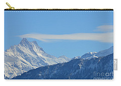 The Alps In Azure Carry-all Pouch