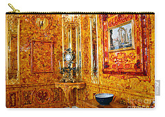 The Amber Room At Catherine Palace Carry-all Pouch