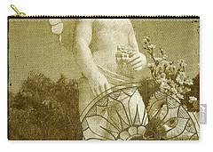 The Angel - Art Nouveau Carry-all Pouch by Absinthe Art By Michelle LeAnn Scott