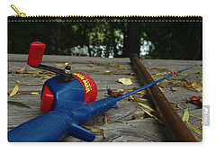 Carry-all Pouch featuring the photograph The Anglers by Peter Piatt