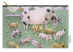 The Apple Feast Carry-all Pouch by Pat Scott