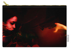 Carry-all Pouch featuring the photograph The Architect Of Red  by Jessica Shelton